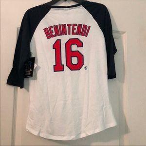 New Era Tops - Andrew Bentendi Baseball Tee